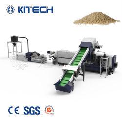De gebruikte Plastic Pelletiserende Machine van het Afval om de Film van de Landbouw Te recycleren