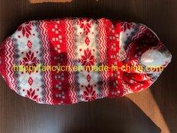 따뜻한 옷 겨울용 고양이 옷을 위한 크리스마스 애완 동물 코트