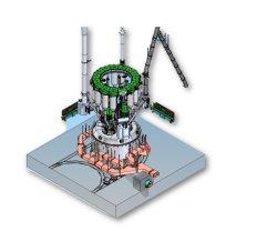 세계적으로 유명한 합금철 용융 제련 기계/물속에 잠긴 아크 로