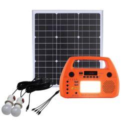 Radio FM AM energia solare generazione manovella esterna Previsioni meteo Ricarica del telefono cellulare