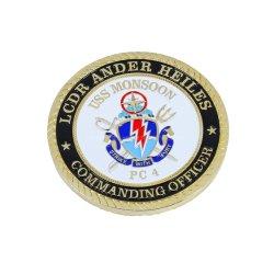 Custom de metal del Ejército de militares estadounidenses Artesanías Challenge 3D de la moneda Trump Soft enamel modelo de avión Premio Deporte Regalo Productos Personalizados Souvenir nombre grabado monedas