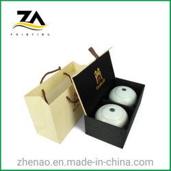 ورق صلب عالي الجودة شاي التغليف التغليف ورقة هدية مربع