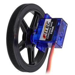 Feetech 9g Mini-Analog rotação contínua de 360 graus com a roda do Servo