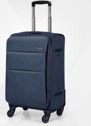 Le tissu de polyester à roues de roulement des étudiants en affaires de loisirs de trolley bagages Voyager sac shopping valise CAS (CY3332)