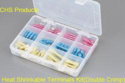 박스 포함 방수 열 수축형 단열 단자 세트