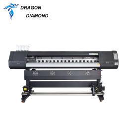 طابعة Gongzheng المذيبة XP600 Digital Indigor and Outdoor Printing Machine