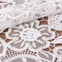 120cm de ancho de ganchillo de encaje de algodón tejido de nylon
