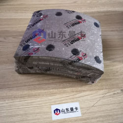 Sinotruk HOWO передних тормозных колодок для погрузчика Wg Qinyan9100440029 с торговой маркой