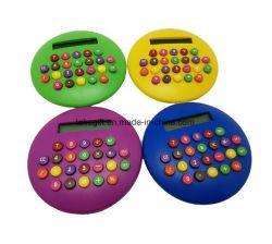 Раунда Бургер красочных 8 Цифра калькулятор с ЖК-дисплеем с электронным управлением