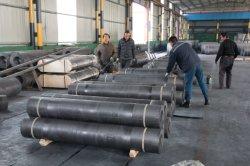 Grande Oferta de eléctrodos de grafite UHP HP RP na produção de aço
