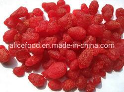 Getrocknete rote Nahrungsmittelnizza Imbisse konservierten Erdbeere