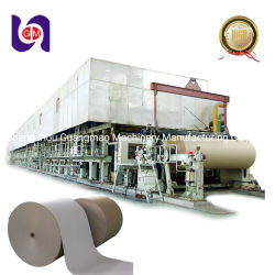 macchina di scanalatura ondulata di fabbricazione di carta della macchina di carta della macchina della carta kraft di 2880mm Using pasta di cellulosa