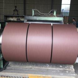 Мэтт велюр складок PPGI с полимерным покрытием оцинкованного стального листа в обмотке