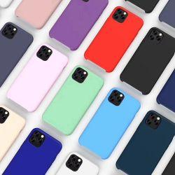 2019 новой жидкости силиконовый чехол для нового iPhone 11