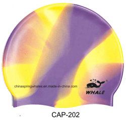 Natación silicona de alta calidad multicolores Hat