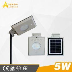 Энергосберегающая лампа 5 Вт энергии солнечного освещения улиц Светодиодные настенные лампы для освещения во дворе