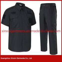 L'uniforme della guardia costiera di obbligazione di disegno per la polizia delle uniformi dell'ufficiale della protezione di obbligazione copre l'obbligazione nera (W834)