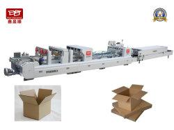 Xcs-1100PC multifuncional automático Caja de cartón ondulado de la carpeta que la máquina Gluer