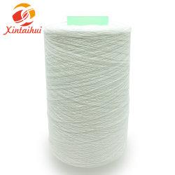 De Ring van de Polyester van 100% spon Ruw Wit Garen 60s/2