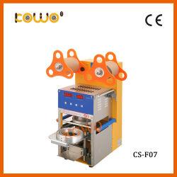 75mm a 95mm copo de plástico Vedante Automática Máquina de vedação para chá de bolha de 110V/60Hz