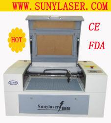 Venda a quente Mini Desktop máquina de gravação a laser com marcação FDA