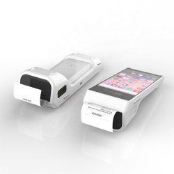 PT50 Handheld Terminal Courier PDA met barcodescanner printer GPRS Loterij POS Sdk Machineprijs