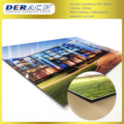 4mm/0,3Mm Impressão Digital Acm PE Alumínio PVDF/Alumínio Painel Composto de países ACP