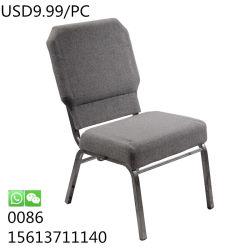 Tissus de haute qualité avec coussins pour les activités de plein air moderne Église chaises de banquet
