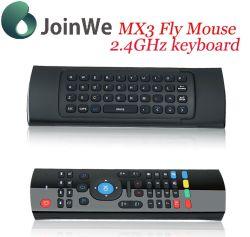 Mouse a distanza senza fili dell'aria della tastiera Mx3 del regolatore