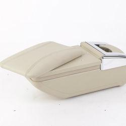 Accesorios de coche Caja de la consola universal Caja de la consola Reposabrazos de cuero para automóviles