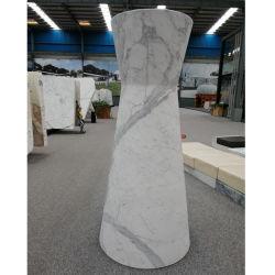 Мраморные Карвинг вазы из камня Flower Pot сеялки