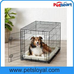 L'usine à double porte de gros chien de la Caisse de Pet cage de métal