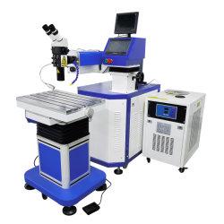Le CCD et le type de microscope de poche de réparation de bijoux YAG moule moule machine à souder au laser pour le canal des lettres des composants électroniques de la batterie du capteur de relais de métal