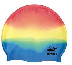 قبعة سباحة سيليكون مقاومة للماء للنساء والرجال