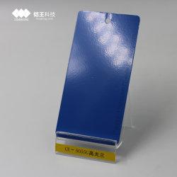 Méthode d'application de pulvérisation d'aluminium enduit de poudre pour une surface métallique