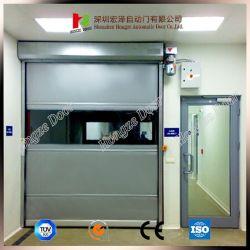 Portello statico ad alta velocità veloce interno del PVC della plastica delle saracinesche anti (Hz-HSD011)