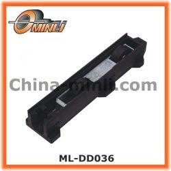 Support en plastique de la poulie fixe avec roues doubles (ML-DD036)