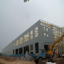 Simple et rapide de la construction de la structure en acier préfabriqués Gable châssis chambre
