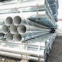 Tubo de acero galvanizado Pre redonda para el poste de cerca el tubo