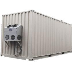 Type de conteneur de génération de l'électricité Génératrice 1 MW générateur de gaz naturel