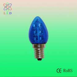 Patentó EL LED C7 E12 para lámparas de luz de la cadena de luces de Velas LED