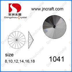 Runde Form-hochwertiger KristallglasRhinestone für Dekoration