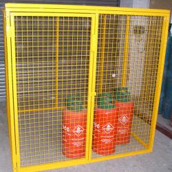 Bombola di gas zincata gabbia di stoccaggio