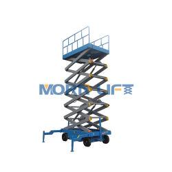 Platform van het Werk van de Lift van de Schaar van de afstandsbediening het Mobiele