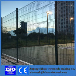 Pannelli In Rete In Filo Metallico Rivestiti In Pvc / Zincati Saldati/Protezione Sicura Fence