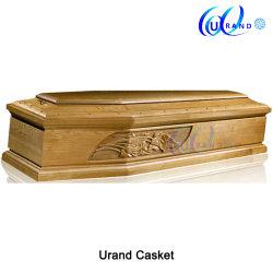 Estilo europeu de alta qualidade caixões italiano esculpida por grosso