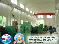 De HydroTurbine van de impuls voor HydroElektrische centrale