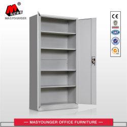 Cuatro estantes ajustables 4 Archivo de almacenamiento/armario armario