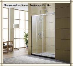 Haltbarer Riemenscheiben-Rad-Dusche-Gehäuse-Dusche-Bildschirm man reparierte ein die schiebenden Dusche-Bildschirm-Dusche-Schrank-Glasdusche Sanitaryware Badezimmer-Zubehör