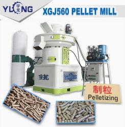 A palha e o moinho de péletes da casca de arroz aprovado pela CE